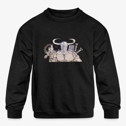bdealers69 art - Kids' Crewneck Sweatshirt