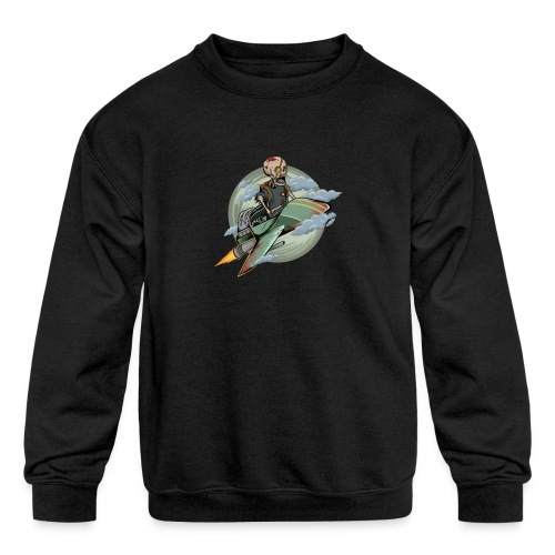 d9 - Kids' Crewneck Sweatshirt