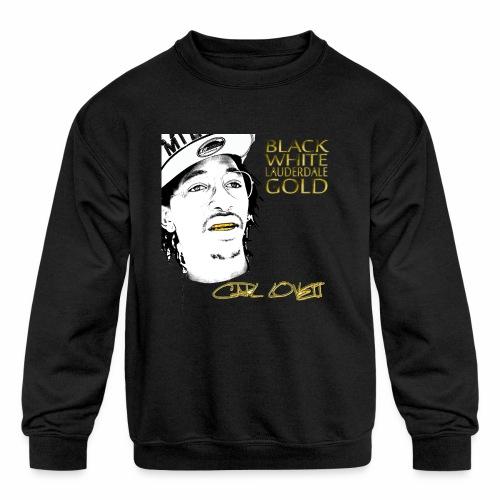 Carl Lovett Lauderdale Gold - Kids' Crewneck Sweatshirt