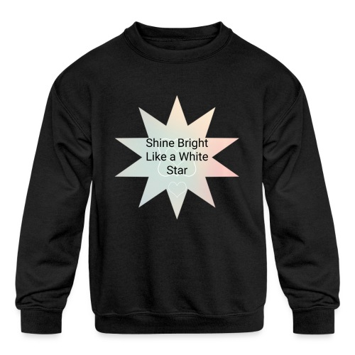 Photo 1514476838633 - Kids' Crewneck Sweatshirt