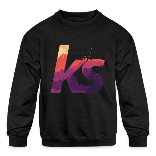 Khalil sheckler - Kids' Crewneck Sweatshirt