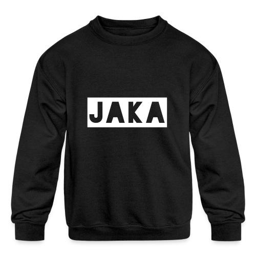 Jaka Supreme - Kids' Crewneck Sweatshirt