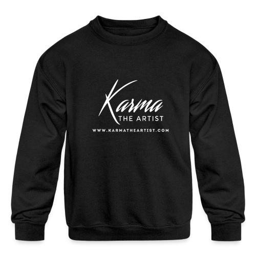 Karma - Kids' Crewneck Sweatshirt
