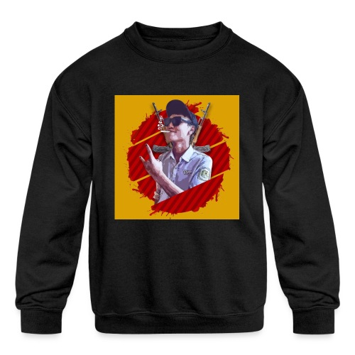 smoke - Kids' Crewneck Sweatshirt