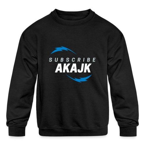 flash - Kids' Crewneck Sweatshirt