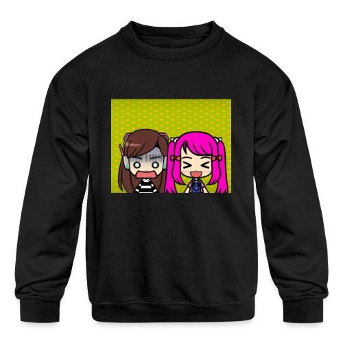 Phone case merch of jazzy and raven - Kids' Crewneck Sweatshirt