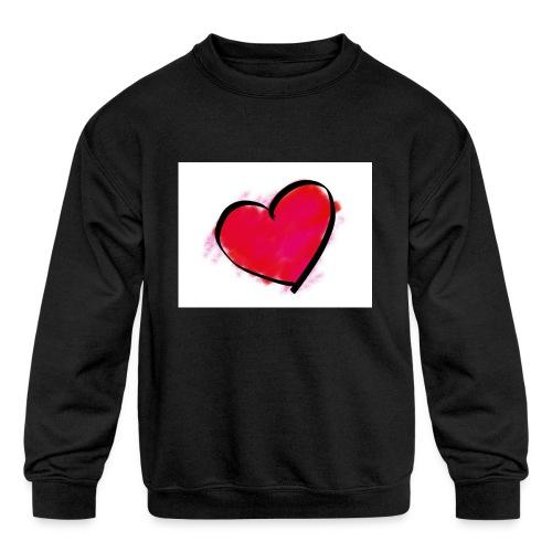 heart 192957 960 720 - Kids' Crewneck Sweatshirt