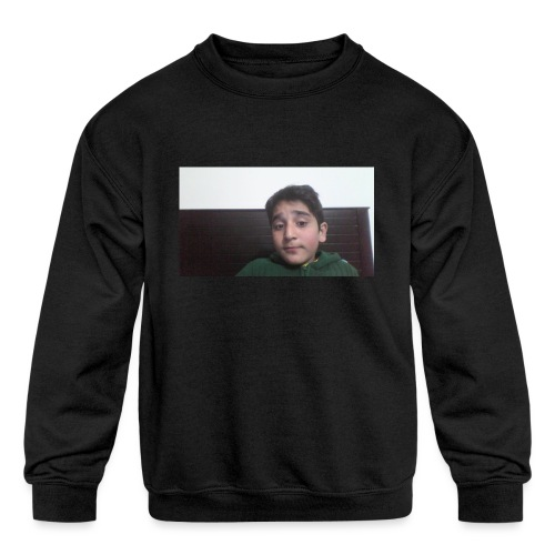 Dont Think Just BUY - Kids' Crewneck Sweatshirt