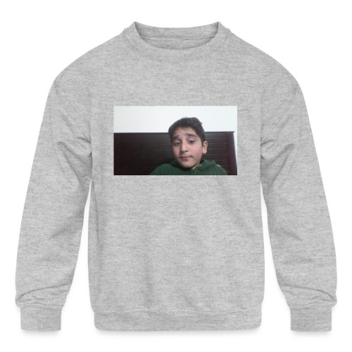 Dont Think Just BUY - Kids' Crewneck Sweatshirt
