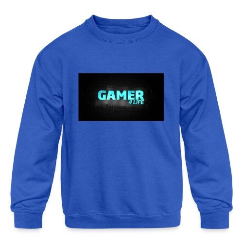 plz buy - Kids' Crewneck Sweatshirt