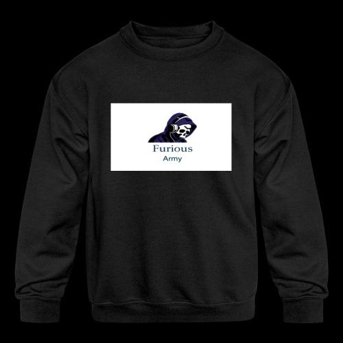 savage hoddie - Kids' Crewneck Sweatshirt