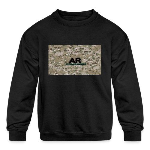 Alpha Ranger Apperal - Kids' Crewneck Sweatshirt
