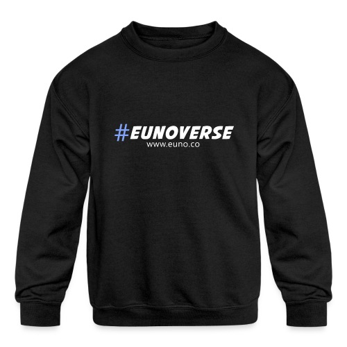 #Eunoverse Tag - Kids' Crewneck Sweatshirt