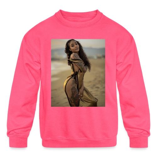 Sheesh - Kids' Crewneck Sweatshirt