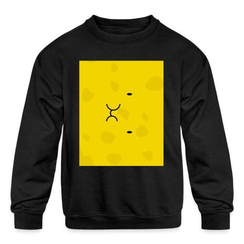 Spongy Case 5x4 - Kids' Crewneck Sweatshirt