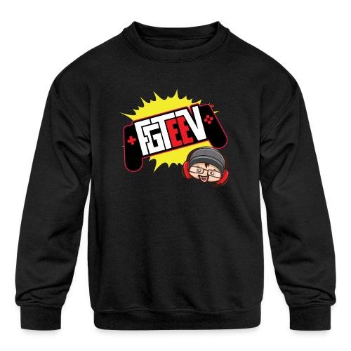FGTEEV 2019 Logo (ADULT) - Kids' Crewneck Sweatshirt