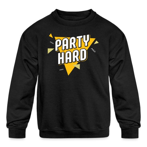 Party Hard 2021 - Kids' Crewneck Sweatshirt