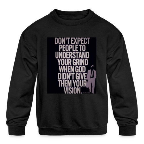 HUSTLE 10 - Kids' Crewneck Sweatshirt