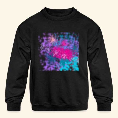 Abstract - Kids' Crewneck Sweatshirt