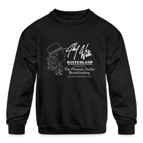 Johnny Winter's Winterland - Kids' Crewneck Sweatshirt