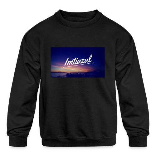Copy of imtiazul - Kids' Crewneck Sweatshirt