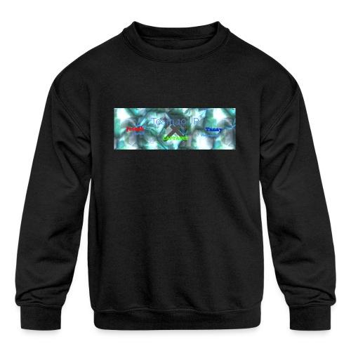 Team10Jr Capitans - Kids' Crewneck Sweatshirt