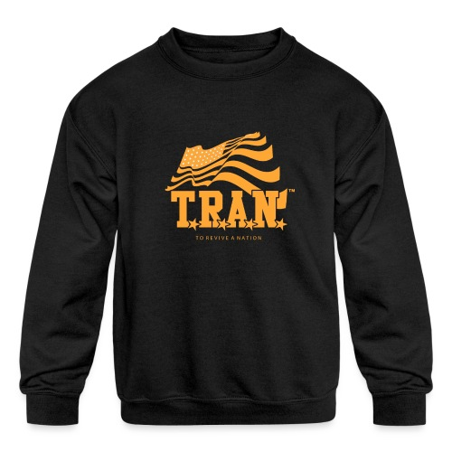 TRAN Gold Club - Kids' Crewneck Sweatshirt