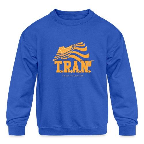 TRAN Gold Club - Kids' Crewneck Sweatshirt