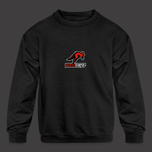 RedOpz Basic - Kids' Crewneck Sweatshirt