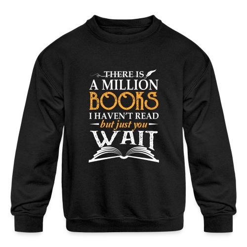 Mini Pig Comes Your Life Steals Heart - Kids' Crewneck Sweatshirt