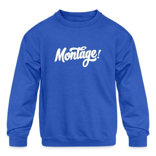 Montage - Kids' Crewneck Sweatshirt