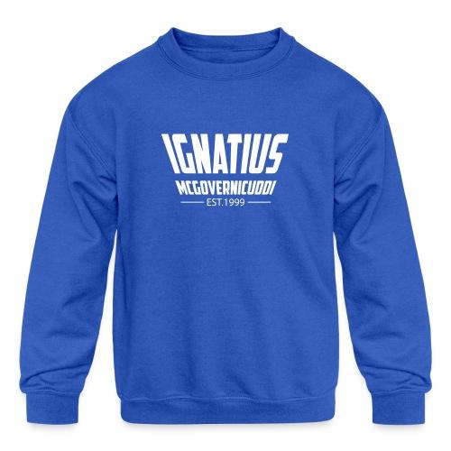 Ignatius - Kids' Crewneck Sweatshirt