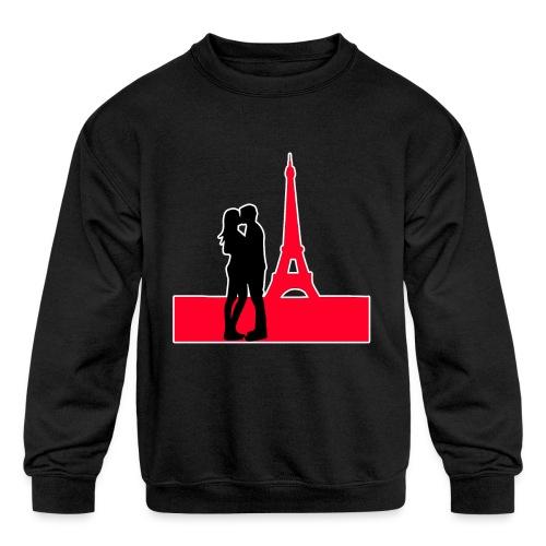 In Love In Paris - Kids' Crewneck Sweatshirt