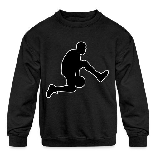 basketball - Kids' Crewneck Sweatshirt