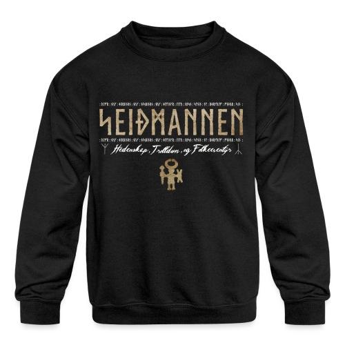 SEIÐMANNEN - Heathenry, Magic & Folktales - Kids' Crewneck Sweatshirt