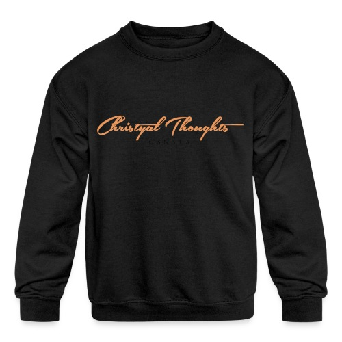 Christyal Thoughts C3N3T31 O - Kids' Crewneck Sweatshirt