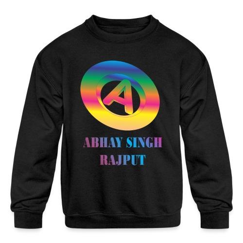 abhay - Kids' Crewneck Sweatshirt