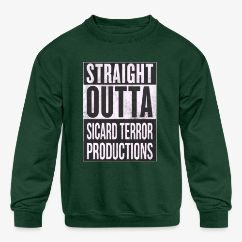 Strait Out Of Sicard Terror Productions - Kids' Crewneck Sweatshirt