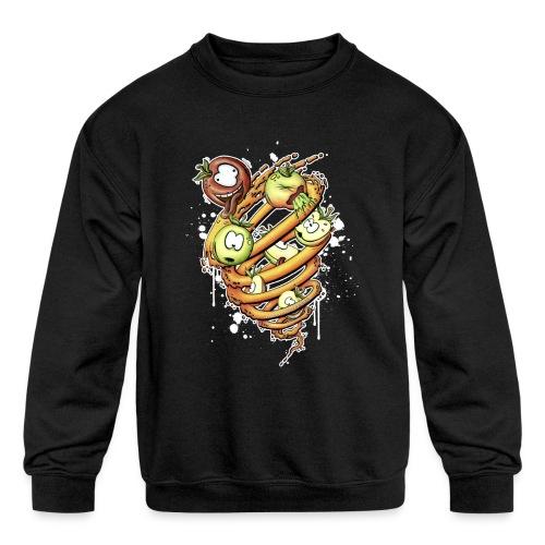 apfelstrudel - Kids' Crewneck Sweatshirt