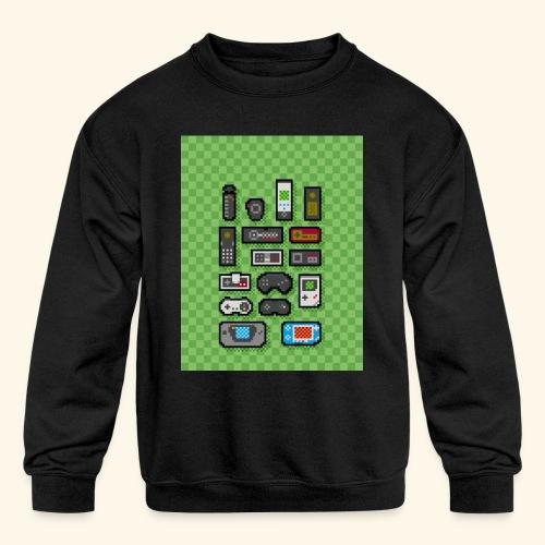 controller handy - Kids' Crewneck Sweatshirt