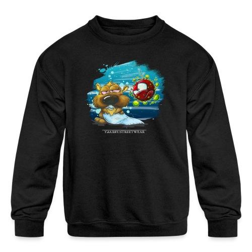 the tragic of life - Kids' Crewneck Sweatshirt