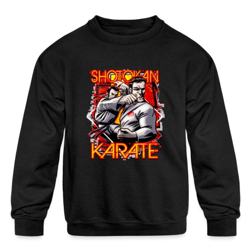 Shotokan Karate - Kids' Crewneck Sweatshirt