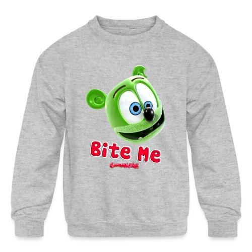 Bite Me - Kids' Crewneck Sweatshirt