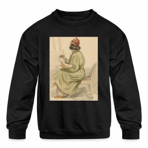rs portrait sp 02 - Kids' Crewneck Sweatshirt