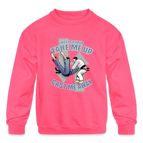 Like Excalibur - Kids' Crewneck Sweatshirt