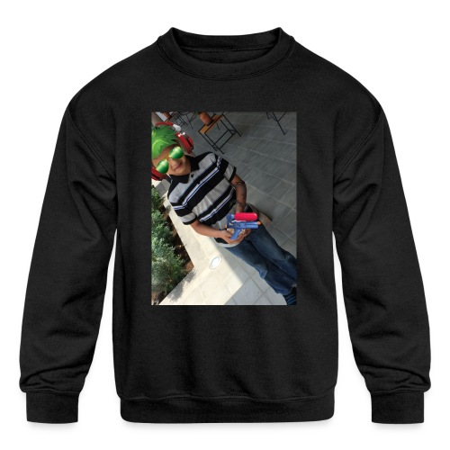 fernando m - Kids' Crewneck Sweatshirt