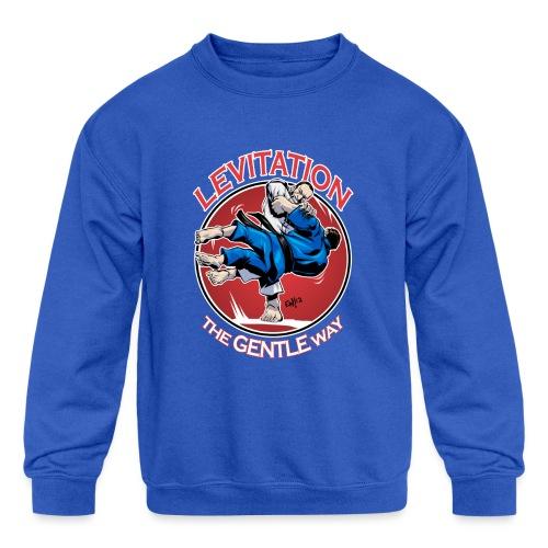 Judo Levitation for dark shirt - Kids' Crewneck Sweatshirt