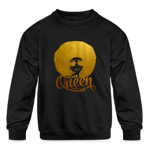 Black Queen - Kids' Crewneck Sweatshirt
