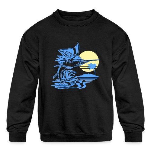 Sailfish - Kids' Crewneck Sweatshirt