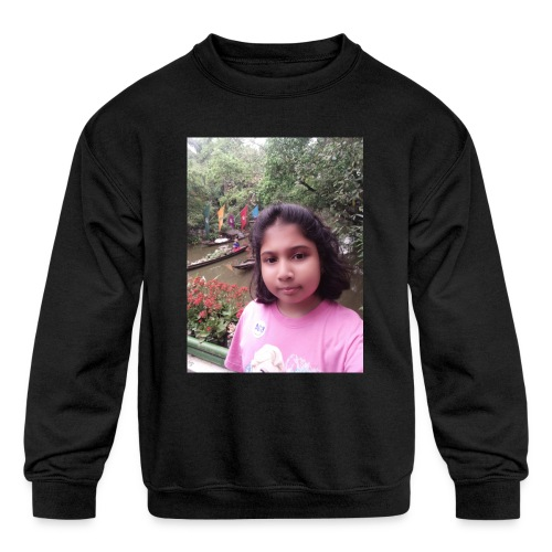 Tanisha - Kids' Crewneck Sweatshirt